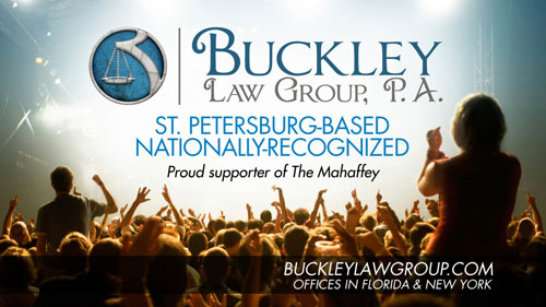 Buckley Law Group is sponsoring the Mahaffey Theatre Foundation!